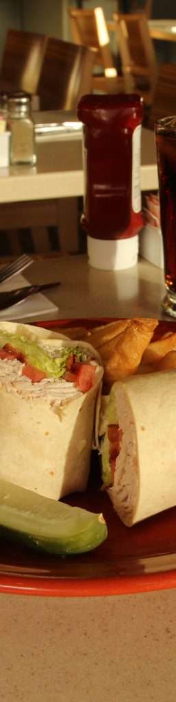 Turkey BLT Wrap menu